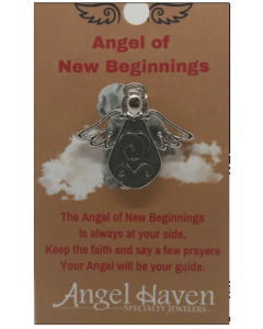 Angel of New Beginnings Pin