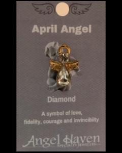 April Angel Pin