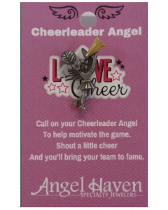 Cheerleader Angel Pin