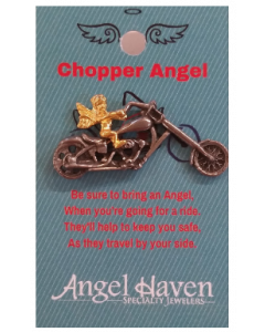 Chopper Angel Pin