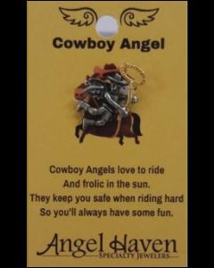 Cowboy Angel Pin