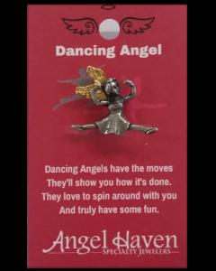 Dancing Angel pin