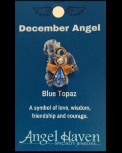 December Angel Pin