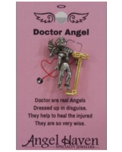 Doctor Angel Pin