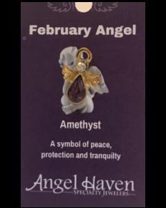 February Angel Pin