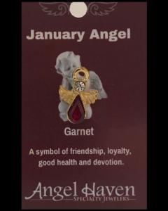 January Angel Pin