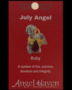 July Angel Pin