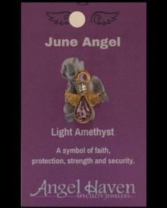 June Angel Pin