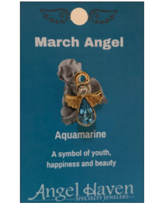 March Angel Pin