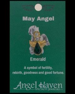 May Angel Pin