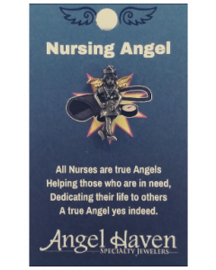 Nursing Angel Pin