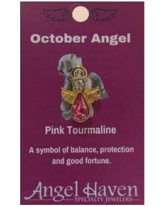 October Angel Pin