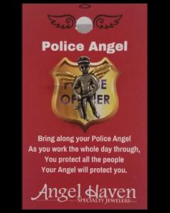 Police Angel Pin