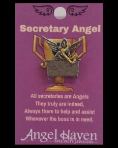 Secretary Angel Pin
