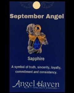 September Angel Pin
